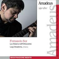 Fernando Sor interpretato da Luigi Attademo alla chitarra: con Amadeus in edicola a maggio