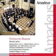 Nel numero di dicembre 2013, Amadeus propone la musica sacra di Ferruccio Busoni